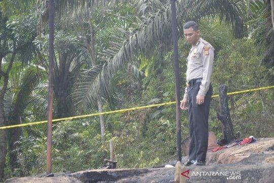 Sumur minyak terbakar di Aceh Timur di wilayah kerja Pertamina EP