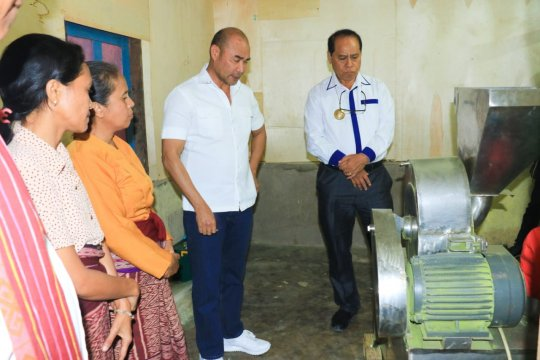 Pemprov janjikan 10 mesin pengering kelor untuk Bumdes di Malaka