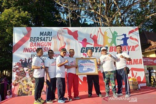 Polres Bangkalan kampanyekan persatuan melalui gebyar budaya
