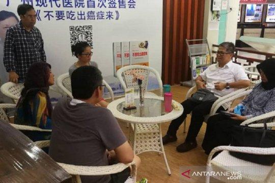 KJRI Guangzhou upayakan pemulangan segera jenazah Sutopo Purwo Nugroho