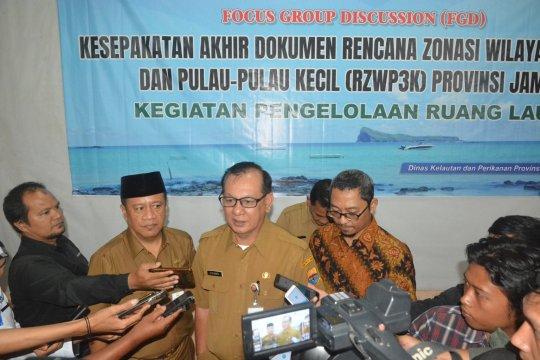 Pemprov Jambi targetkan pengesahan zonasi wilayah pesisir