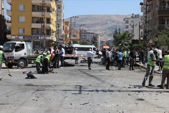 Gudang amunisi militer Turki meledak