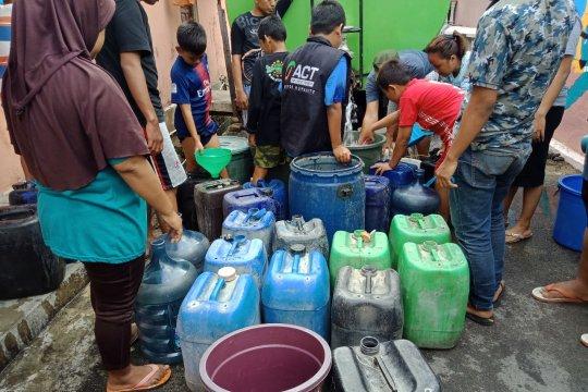 ACT Lampung pasok air bersih ke kampung Rawa Laut