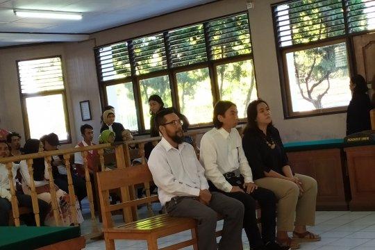 Terdakwa WNI dan Warga Jepang di vonis 3 Bulan 15 Hari di PN Denpasar