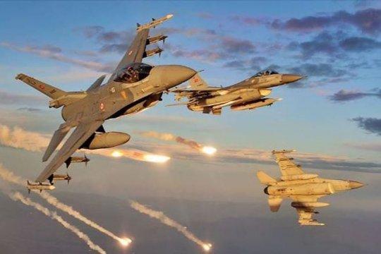"Jet tempur Turki ""netralkan"" dua anggota PKK di Irak utara"