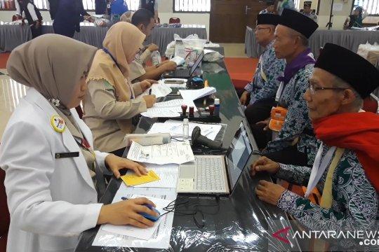Dirujuk ke RS Haji Jakarta, empat calhaj Embarkasi Pondok Gede