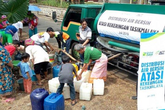 ACT salurkan air bersih di Jawa Barat