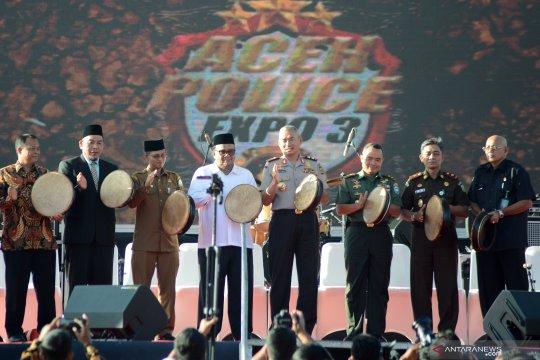 Aceh Police Expo HUT Bhayangkara
