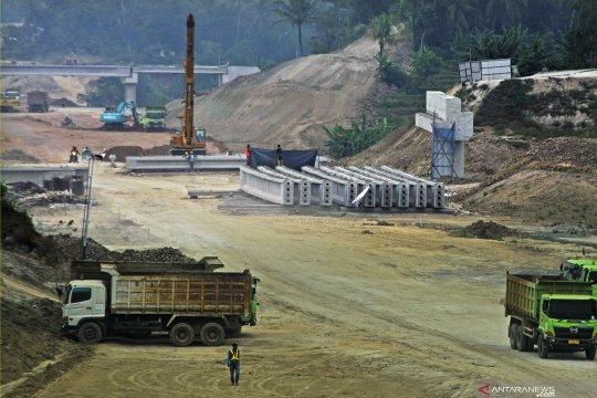 Pembangunan tol Serang-Rangkasbitung