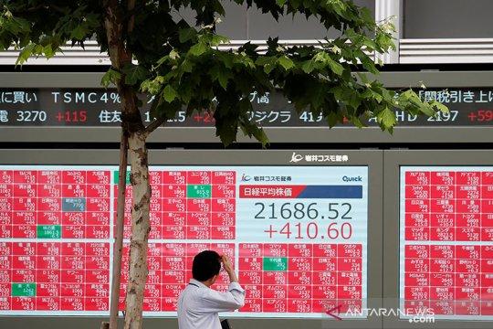 Saham Tokyo dibuka menguat tajam, ditopang harapan stimulus AS