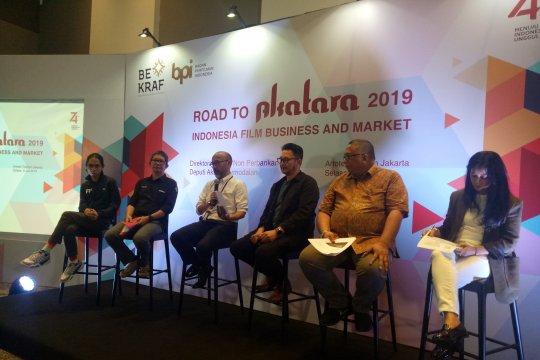 Pasar film Indonesia tumbuh, Bekraf buat insentif untuk lokasi syuting