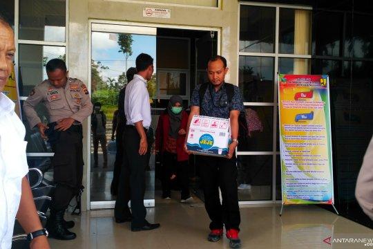 KPK sita dokumen dari kantor Bupati dan PU Solok Selatan