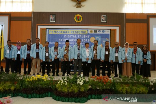 "Unram-Kominfo buka regional ""Digital Talent Scholarship 2019"""