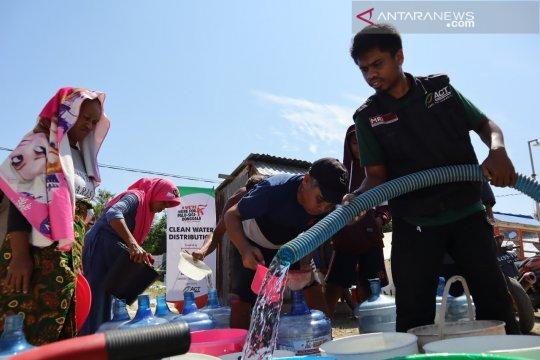 ACT penuhi kebutuhan air korban bencana gempa di pengungsian
