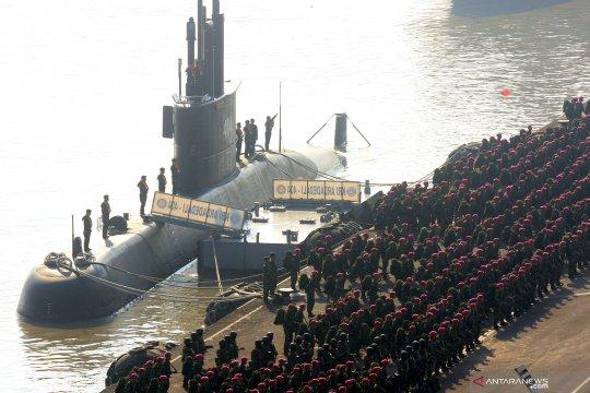 TNI AL gelar apel kesiapan latihan Armada Jaya ke-37