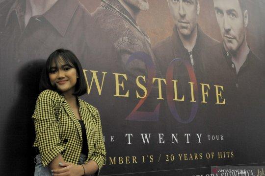 Marion Jola jadi penyanyi pembuka konser Westlife di Palembang