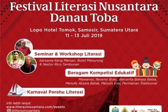 Gramedia gelar Festival Literasi Nusantara di tepian Danau Toba