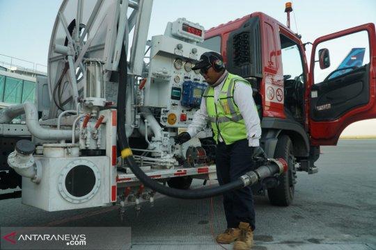 Pertamina tambah stok avtur untuk penerbangan haji dari Balikpapan