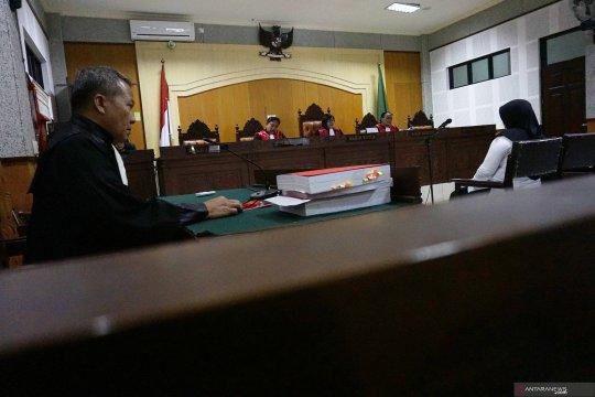 Kompol Tuti tidak ajukan eksepsi terhadap dakwaan suapnya