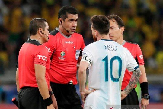Wasit Argentina vs Brasil akhirnya buka suara terkait komentar Messi