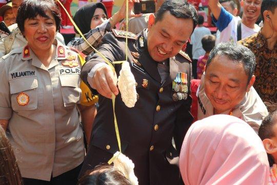 Rayakan HUT Bhayangkara, Polres Metro Jakut gelar pesta rakyat