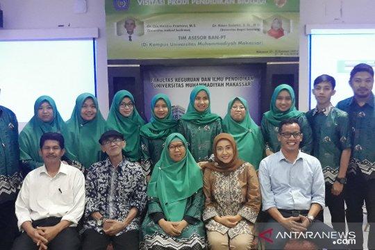 Perdana, Prodi Biologi FKIP Unismuh Makassar raih Akreditasi B