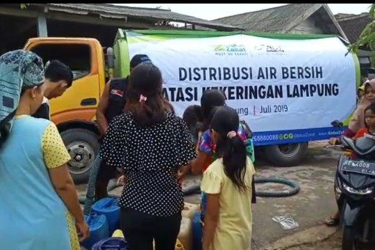ACT-Lampung beri bantuan air bersih ke kampung Teluk Harapan