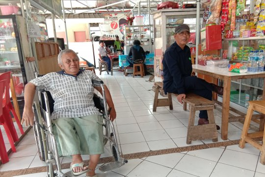 Pasar Lokbin Cililitan Jakarta punya lapak bagi penyandang disabilitas
