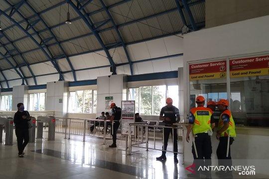 Jelang laga Persija-Persib, Stasiun Palmerah tambah petugas keamanan