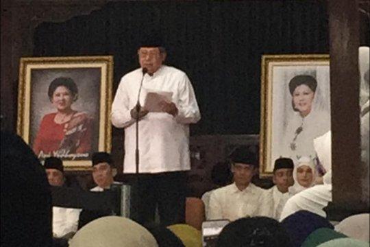 Keluarga SBY gelar doa bersama 40 hari wafatnya Ani Yudhoyono