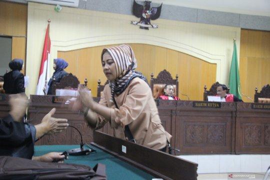 Empat terdakwa korupsi gedung MAN IC Lombok divonis satu tahun penjara