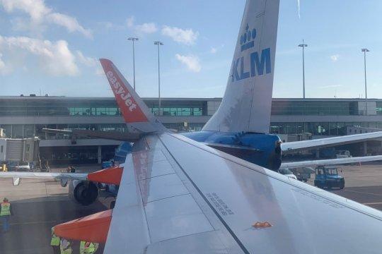Staf mogok kerja, KLM batalkan enam penerbangan di Amsterdam