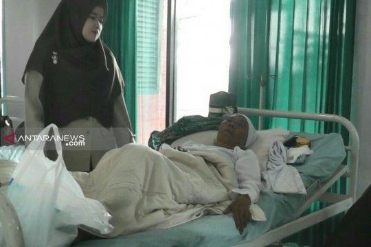 Sakit demensia, satu calhaj Pagaralam tertunda keberangkatannya