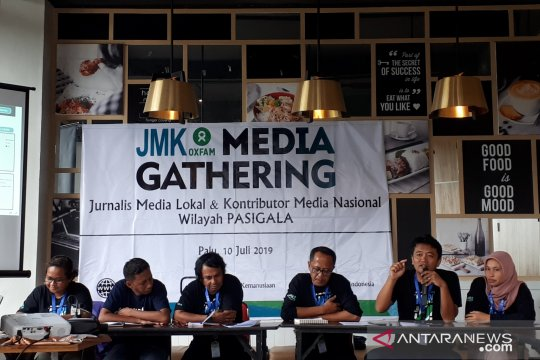 JMK-Oxfam komitmen bantu pengungsi korban bencana Pasigala hingga 2020