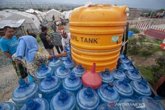 JMK-Oxfamproduksi 29,6 juta liter air untuk pengungsi bencana Sulteng