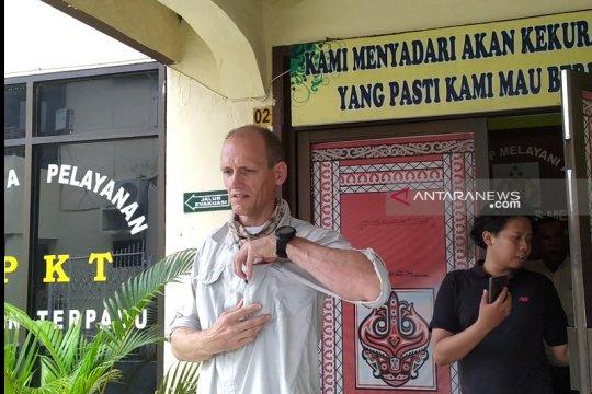 Robert Jannies, wisatawan asal Prancis yang dijambret di Medan