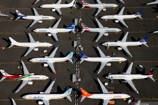 Boeing sediakan 50 juta dolar bagi keluarga korban kecelakaan 737 MAX