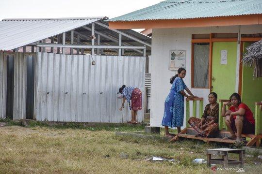 Korban gempa Lombok masih tinggal di hunian sementara