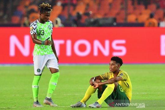 Nigeria dan kekuatan mentalnya lahirkan gol menit-menit akhir