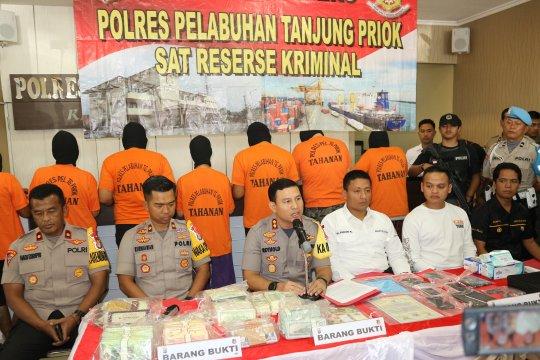 Polres Pelabuhan Tanjung Priok temukan obligasi valas palsu