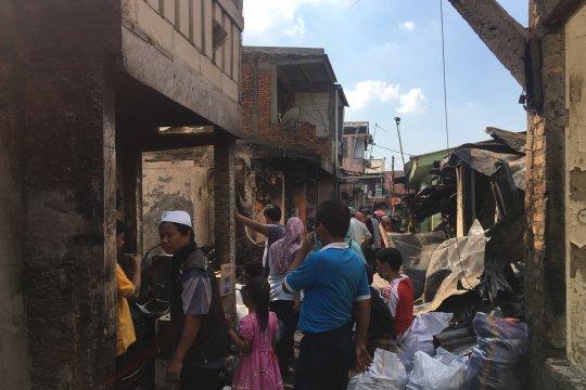 Camat Tebet jadwalkan kerja bakti massal di lokasi kebakaran
