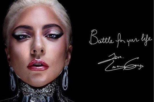 Anting desainer Indonesia dipakai Lady Gaga untuk iklan kosmetik