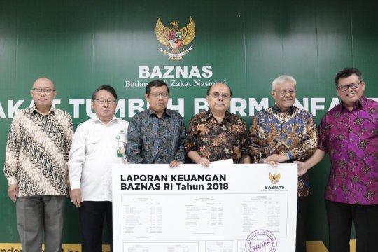Baznas raih laporan keuangan wajar dari KAP AR Utomo
