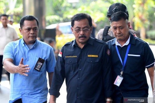 Gubernur Kepri Nurdin Basirun jalani pemeriksaan lanjutan di KPK