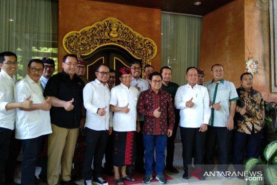 Cak Imin minta izin Koster gelar muktamar di Bali