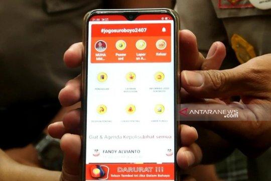 """Polrestabes luncurkan aplikasi layanan masyarakat """"Jogo Suroboyo"""""""