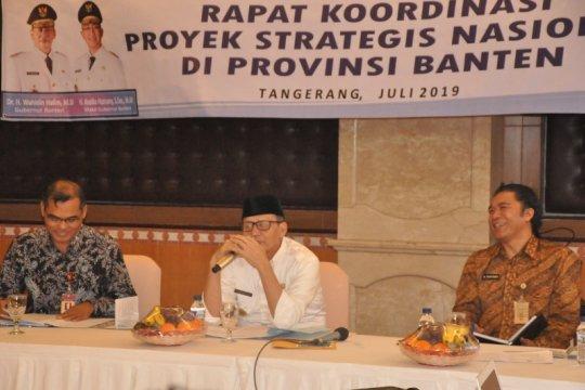 Gubernur: progres fisik proyek strategis nasional di Banten 60 persen