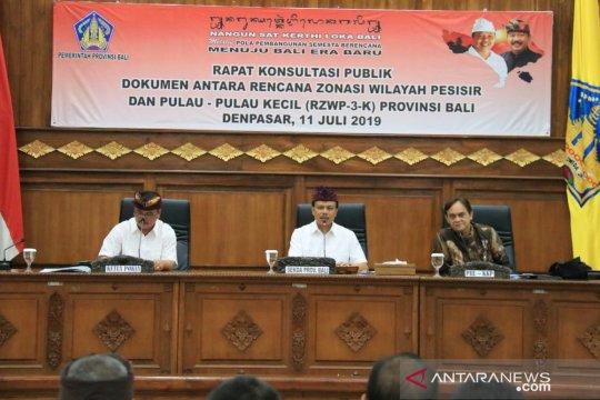 Sekda Bali ingin dokumen rencana zonasi pesisir segera rampung