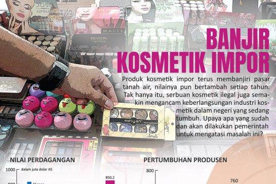 Banjir kosmetik impor