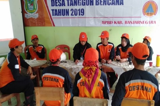 BPBD Banjarnegara latih relawan desa tangguh bencana